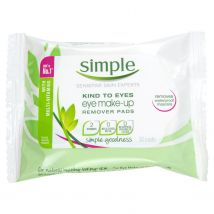 Simple Kind To Eyes Eye Make Up Remover Pads 30 Pieces