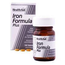 Healthaid Iron Formula Plus Tablets 100
