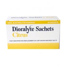 Dioralyte Citrus - 20 sachets