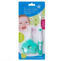Brush-Baby My First Brush & Teether Set 0-18months