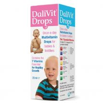 Dalivit Drops Once A Day Multivitamin - 25ml