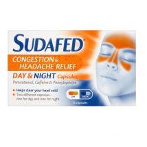 Sudafed Day & Night 16 Capsules