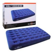 Milestone Camping Double Flocked Airbed