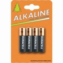 4 Pack Duracell AAA Batteries