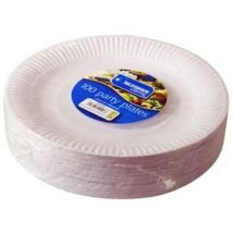 Kingfisher Paper Plates 9in (Pack 100)