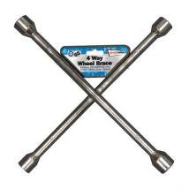 Silver Painted Car Wheel Brace 17-19-21-23mm