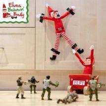 Elves Behavin' Badly Elvie Red Girl Elf 12 Inch