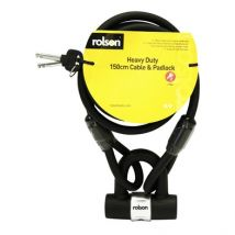 1500mm Heavy Duty Cable and Lock