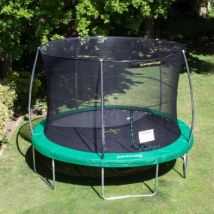 Jumpking JumPOD Classic Round 12ft Trampoline Safety Net & Pad