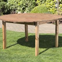 Charles Taylor 6 Seat Round Garden Table