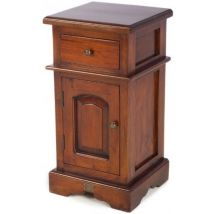 Ancient Mariner Mahogany Village Bedside Cabinet - Small Victorian