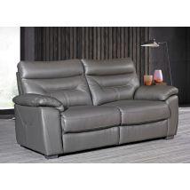 Como Grey 3 Seater Fixed Sofa