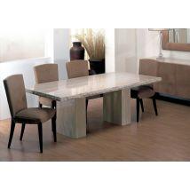 Roma Marble Dining Table - Chiselled Edge - Stone International