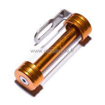 Porte assurance moto tube Mad, alu or