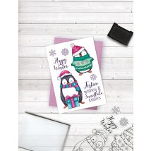 Crafters Companion Photopolymer Stamp - Happy Winter