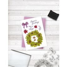 Crafters Companion Photopolymer Stamp - Season's Greetings