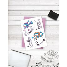 Crafters Companion Photopolymer Stamp - Snow Much Fun