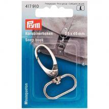 Prym Silver 25mm x 40mm Elliptical Snap Hook