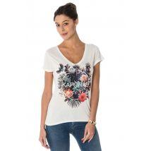 Kaporal - Tee-shirt femme kaporal imprimé tropical
