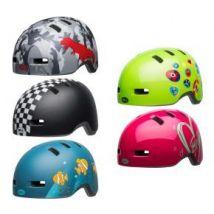 Bell Lil Ripper 45-52cm Toddler Helmet Unisize 45-52CM - Checkers Matte Black/White
