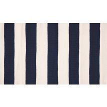 Catamaran Stripe Navy Rug