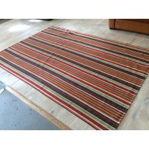 Dash & Albert Rug - Ranch Stripe (TW)