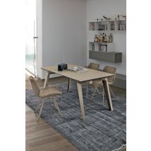 LIBECCIO 160 cm Extendable Table With Corda Painted…