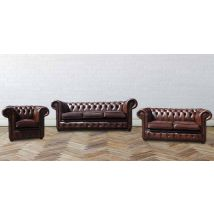 Buy leather furniture livingroom sofas|Chesterfield…