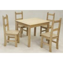 Coba Dining Table Set And 4 Chairs