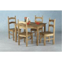 Budget Mexican Dining Set with Four Chairs