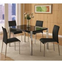 Charisma Rectangular Dining Set with Four Chairs