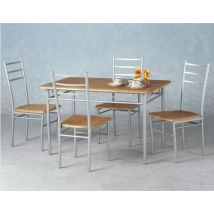 Crosby Rectangular Dining Set with Four Chairs - Budget Range