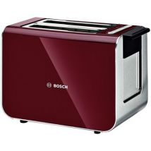 Bosch TAT86104GB Toaster Styline Sensor in Cranberry Red
