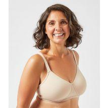 Soutien-gorge post-mastectomie coques fines - PURE TOUCH - 90E - Beige - Femme - Etam