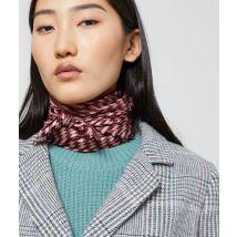 Foulard plissé à rayures - INGRID - TU - Rose - Femme - Etam