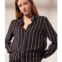 Camisa estampado de rayas - FEEL - 34 - Negro - Mujer - Etam