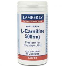 Lamberts L-Carnitine 500mg 60 capsules