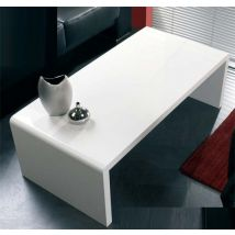 Contemporary Coffee Table In White High Gloss
