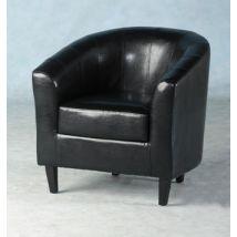 Tempo Tub Chair in Black