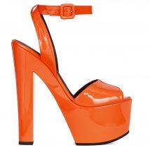 Giuseppe Zanotti TARIFA Womens Platforms Orange