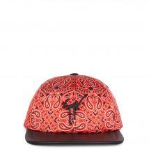 Giuseppe Zanotti COHEN Mens Hats Red