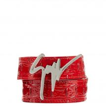 Giuseppe Zanotti GIUSEPPE Mens Belts Red