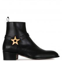 Giuseppe Zanotti SHELDON STAR Mens Boots Black