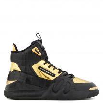 Giuseppe Zanotti TALON Mens High top sneakers Gold
