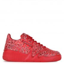 Giuseppe Zanotti TALON Mens Low top sneakers Red
