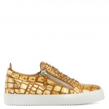 Giuseppe Zanotti FRANKIE Mens Low top sneakers Gold