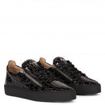 Giuseppe Zanotti FRANKIE Mens Low top sneakers Black
