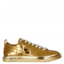 Giuseppe Zanotti BLABBER Mens Low top sneakers Gold