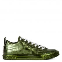 Giuseppe Zanotti BLABBER Mens Low top sneakers Green