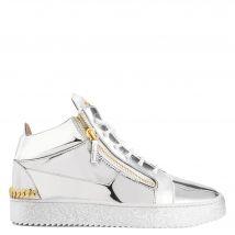 Giuseppe Zanotti FRANKIE Mens Low top sneakers Silver